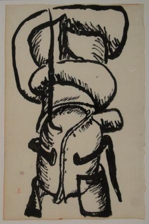 Aucune Technique Müller - Sculpture / Skulpturstudie.