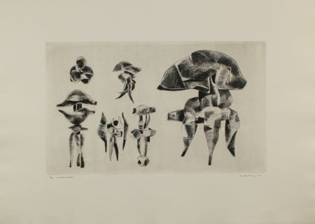 Gravure Hadzi - Sculpture Studies