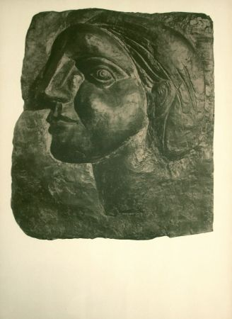 Lithographie Picasso - Sculptures, dessins (before lettering)