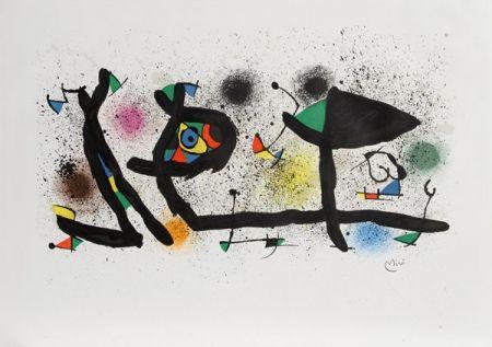 Lithographie Miró - Sculptures (M. 950)
