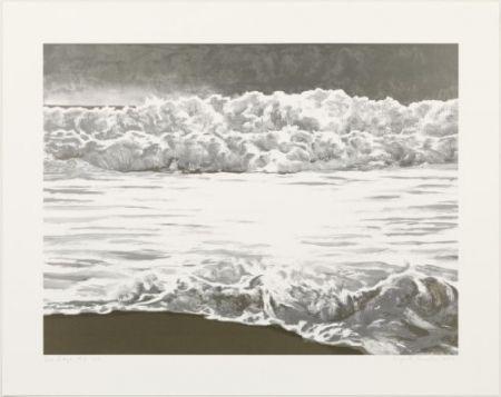 Lithographie Gornick - Sea edge