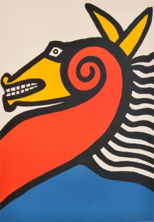 Lithographie Calder - Sea Horse