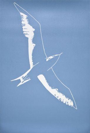 Linogravure Katz - Seagull