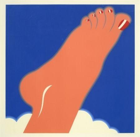 Sérigraphie Wesselmann - Seascape, foot