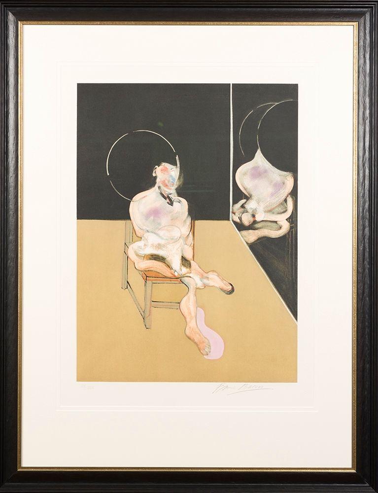 Aquatinte Bacon - 'Seated Figure'