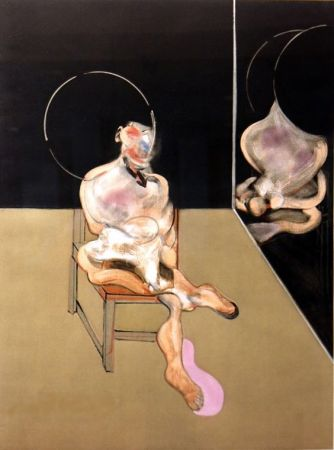 Gravure Bacon - Seated figure