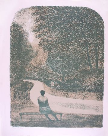 Lithographie Altman -