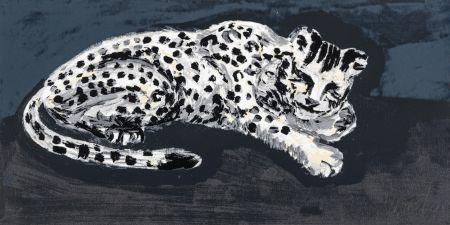 Sérigraphie Sone - Seems like snow leopard