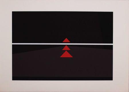Sérigraphie Badiali - Sei fasi progressive di verticalità elastica