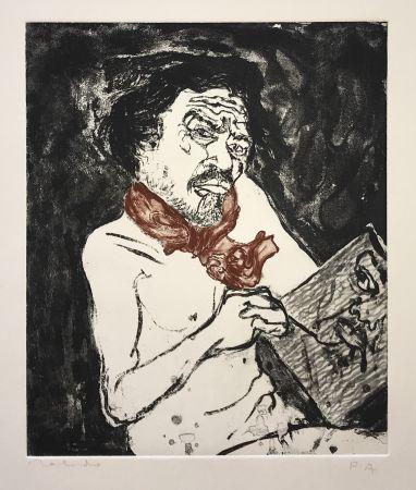 Gravure Toledo - Self-Portrait
