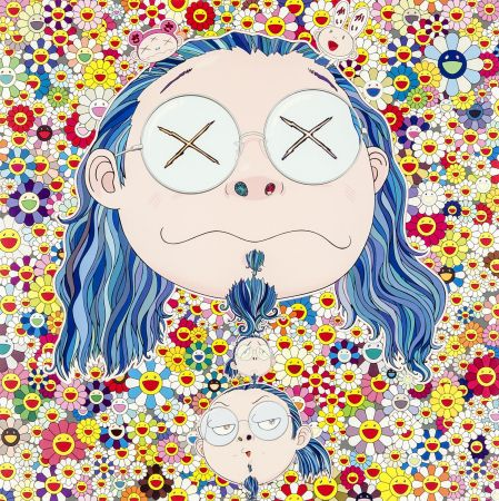 Offset Murakami - Self-portrait of The Distressed Artist