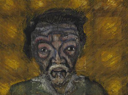 Aucune Technique Toledo - Self-Portrait with Green Shirt