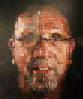 Sérigraphie Close - Self Portrait