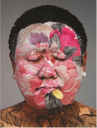Sérigraphie Yan - Self Portrait