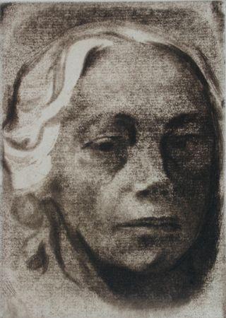 Gravure Kollwitz - Self Portrait