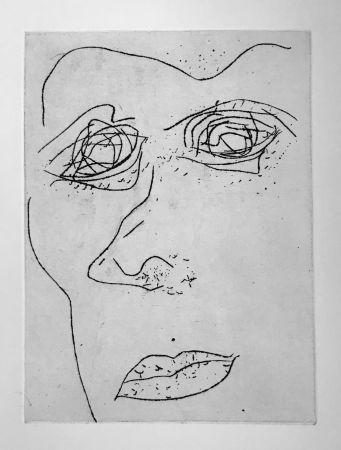 Aquatinte Francis - Self Portrait