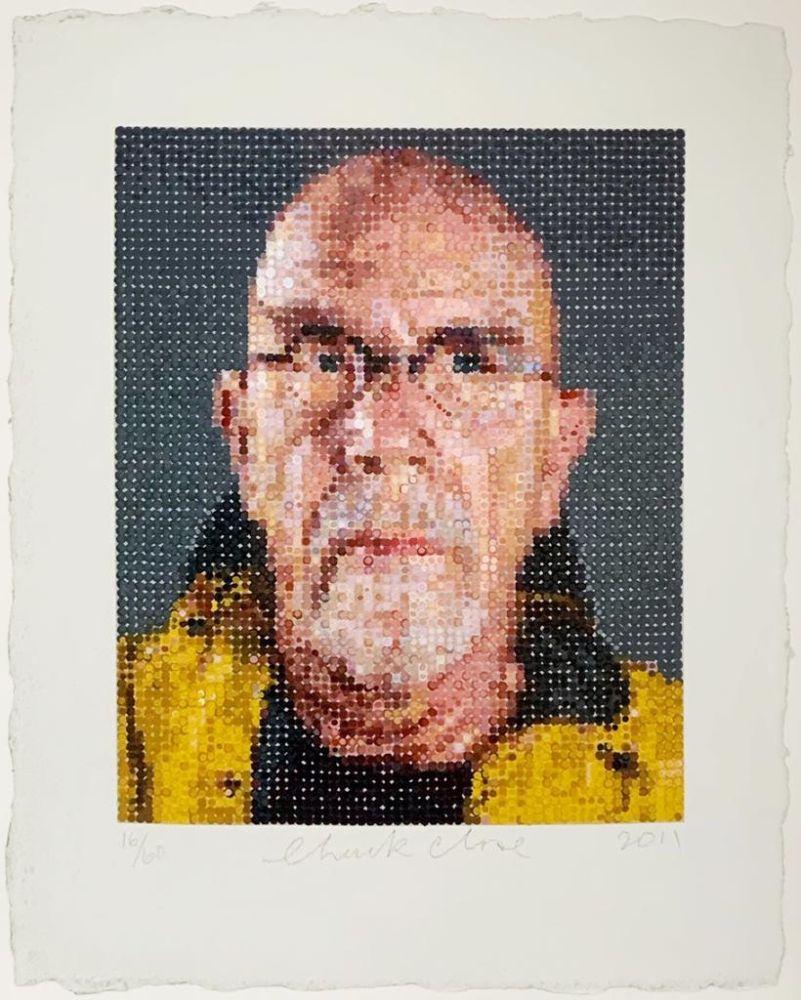 Sérigraphie Close - Self Portrait (1)
