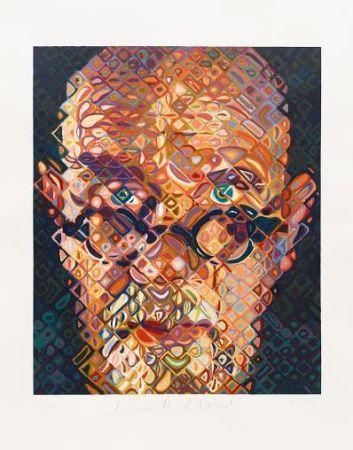 Gravure Sur Bois Close - Self Portrait 2015