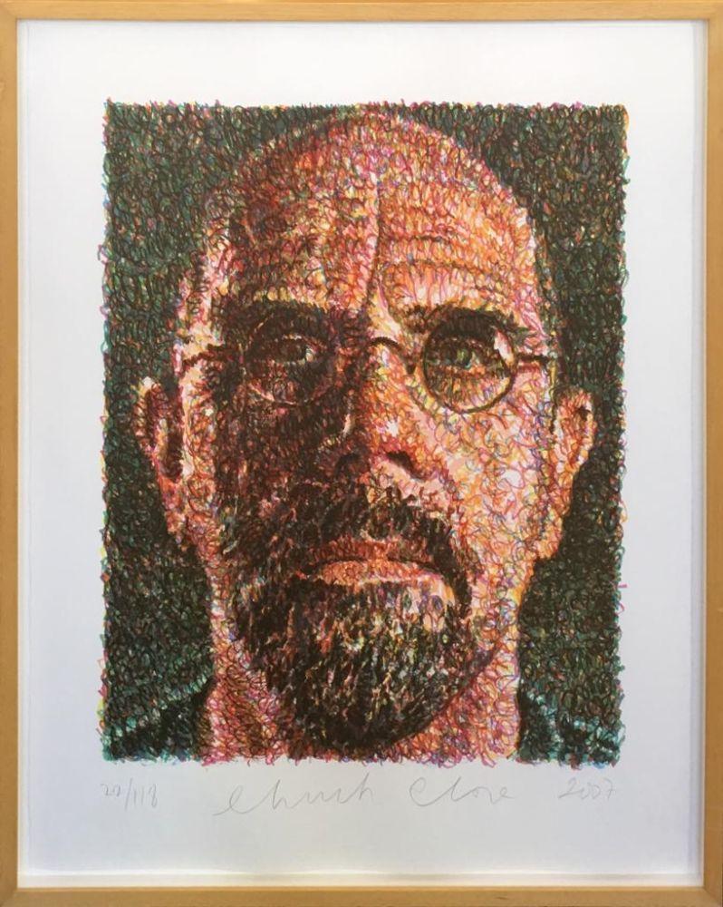Sérigraphie Close - Self Portrait (Lincoln Center)