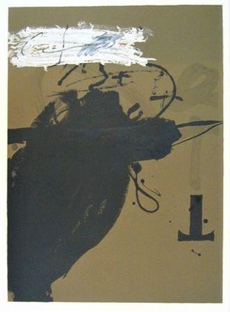 Lithographie Tàpies - Senanque 2