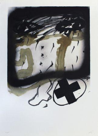 Lithographie Tapies - Senanque I
