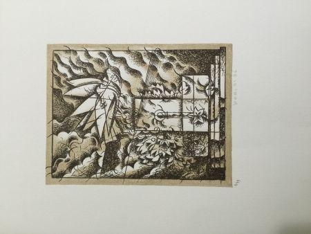 Lithographie Bodini - Sensa titolo