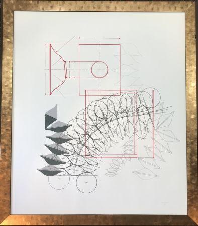 Lithographie Bonalumi - Senza titolo