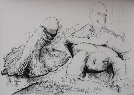 Lithographie Grass - Senza titolo