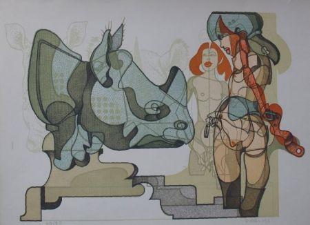 Lithographie Bodini - Senza titolo