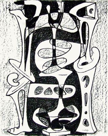 Lithographie Cardenas - Senza titolo