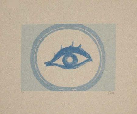 Lithographie Guidi - Senza Titolo