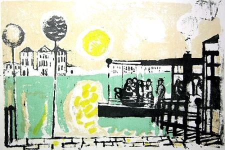 Lithographie Saetti - Senza titolo
