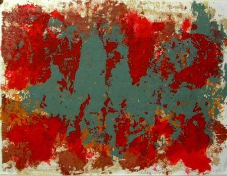Lithographie Scialoja - Senza titolo
