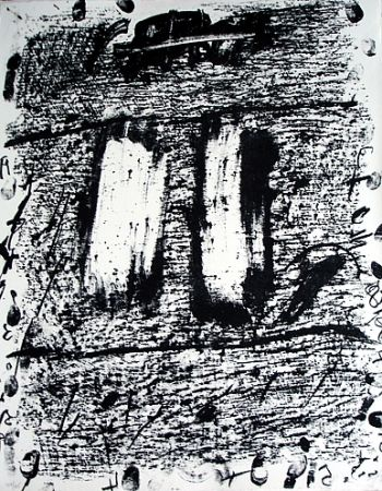 Lithographie Tàpies - Senza titolo