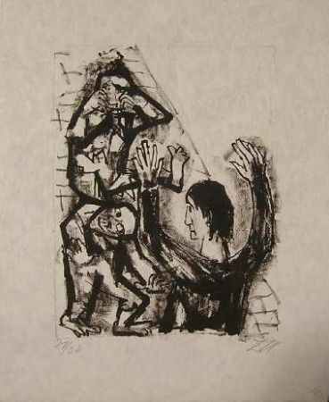 Lithographie Dix - Senza Titolo