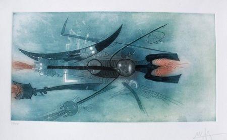 Eau-Forte Et Aquatinte Lam - Senza titolo