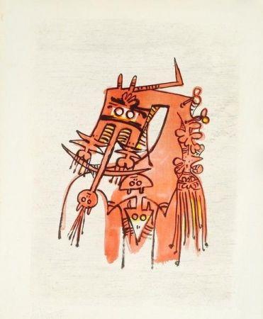 Lithographie Lam - Senza titolo
