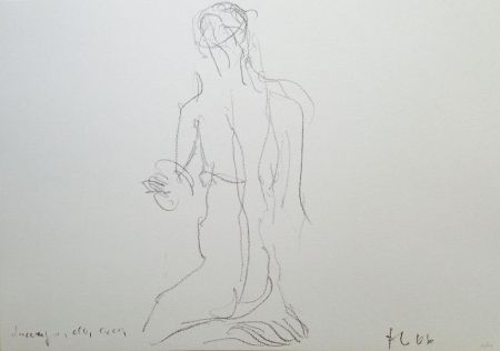 Lithographie Fabro - Senza titolo