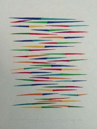 Lithographie Dorazio - Senza titolo