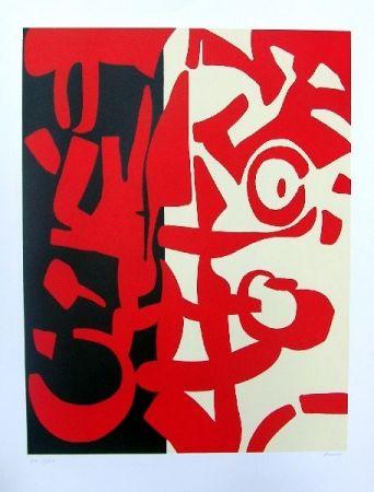 Lithographie Accardi - Senza titolo