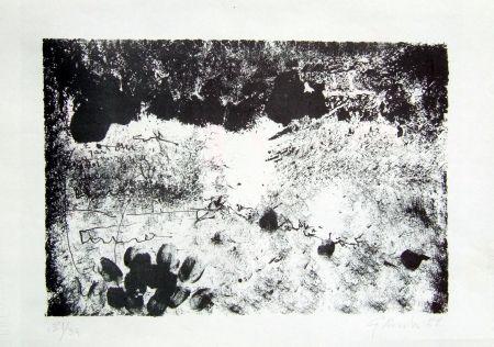 Lithographie Novelli - Senza titolo
