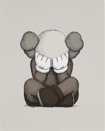 Lithographie Kaws - Separated
