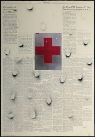 Lithographie Bleckner - September 23rd bis (variant 4)