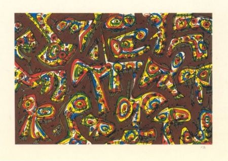 Lithographie Saura - Serie Abierta-10