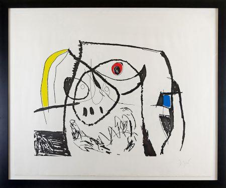 Gravure Miró - Serie Mallorca Plate XII