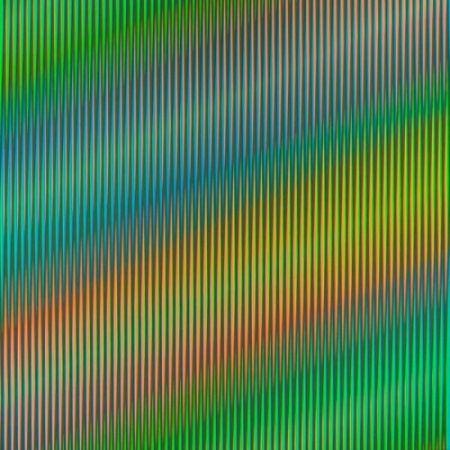 Lithographie Cruz-Diez - Serie Semana - Martes
