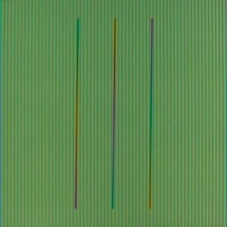 Lithographie Cruz-Diez - Serie Semana - Sábado