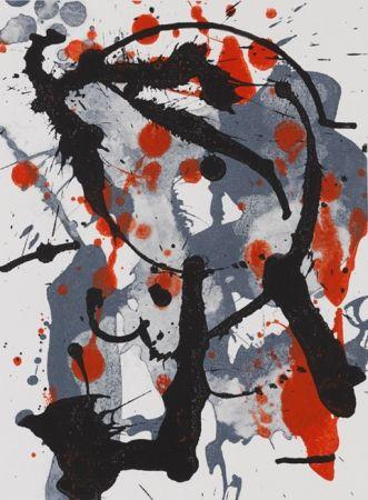 Lithographie Bird - Serie Verano Alpera II