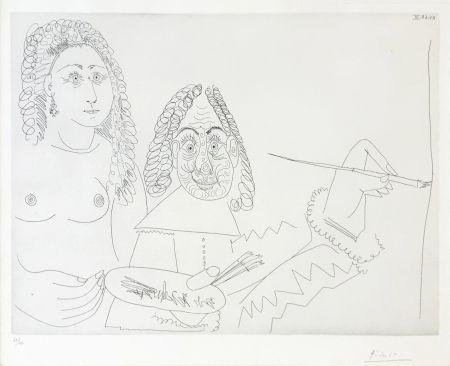 Gravure Picasso - SERIES 347 (BLOCH 1502)