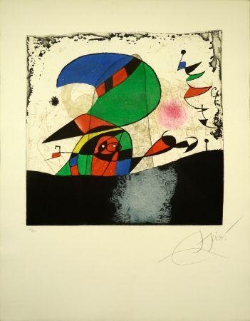 Gravure Miró - Series Gaudi 29